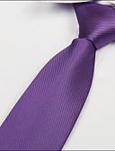 abordables Corbatas y Pajaritas para Hombre-Unisex Poliéster Corbata - Fiesta Trabajo Básico Un Color