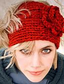baratos Chapéus de Moda-Mulheres Festa Trabalho Activo Lã Algodão, Gorro Sólido