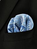 levne Pánské motýlky a kravaty-Pánské Pracovní Základní Kravata - Barevné bloky / Kašmírový vzor