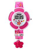 cheap Kids' Watches-Bracelet Watch PU Band Charm / Fashion Pink / Purple / Two Years / Maxell626+2025