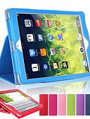hesapli ipad kılıfı-Pouzdro Uyumluluk Apple iPad Mini 5 / iPad Yeni Hava (2019) / iPad Air Satandlı / Oto Uyu / Uyan Tam Kaplama Kılıf Solid Sert PU Deri / iPad (2017)