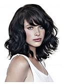 preiswerte Herrenmode Accessoires-Synthetische Perücken Wellen Synthetische Haare Schwarz Perücke Damen Kurz Kappenlos