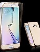 olcso Mobiltelefon tokok-Case Kompatibilitás Samsung Galaxy Samsung Galaxy tok Átlátszó Héjtok Egyszínű TPU mert S6 edge plus / S6 edge / S6