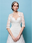 cheap Wedding Wraps-Lace Wedding Party Evening Wedding  Wraps Shrugs