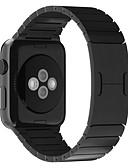 abordables Bandas de reloj inteligente-Ver Banda para Apple Watch Series 4/3/2/1 Apple Hebilla de la mariposa Acero Inoxidable Correa de Muñeca