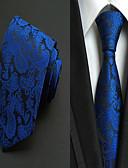 זול חולצות לגברים-עניבת צווארון - יצירתי מסוגנן פאר / דוגמא / קלסי בגדי ריקוד גברים