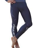 baratos Roupas de Mergulho & Camisas de Proteção-SABOLAY Homens Calça Legging de Mergulho Resistente Raios Ultravioleta, Compressão Tactel / Elastano Roupa de Banho Roupa de Praia Calças Natação