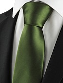 billige Brudepikekjoler-Herre Luksus / Solid / Klassisk Slips - Elegant, Kreativ