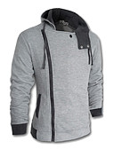 cheap Men's Hoodies & Sweatshirts-Men's Plus Size Hoodie Jacket - Solid
