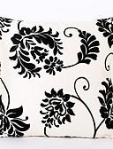 levne Pánská tílka-1 ks Polyester Polštářový potah, Květinový Zvýraznění / dekorace