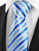 billige Slips og butterfly-Herre Fest Kontor Basale Slips - Bomuld Rayon Polyester Stribet