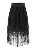 זול ביקיני ובגדי ים-פרנזים אחיד - חצאיות כותנה חגים נדנדה סגנון רחוב מידות גדולות בגדי ריקוד נשים