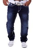 billige Menns bukser-Herre Bukser Trykt mønster