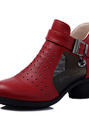 preiswerte Bluse-Damen Tanz-Turnschuh / Schuhe für modern Dance Leder Sneaker Reißverschluss Kubanischer Absatz Keine Maßfertigung möglich Tanzschuhe