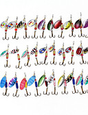 cheap Women's Sweaters-30 pcs Hard Bait Spinner Baits Lure kits Fishing Lures Lure Packs Buzzbait & Spinnerbait Hard Bait Metal Sea Fishing Bait Casting