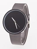 cheap Steel Band Watches-Men's Wrist Watch Casual Watch Stainless Steel Band Minimalist Grey / Jinli 377