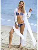 זול 2017ביקיני ובגדי ים-אישה - כיסוי לחוף (שיפון/פוליאסטר)