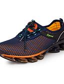 זול כובעים לגברים-בגדי ריקוד גברים טול אביב / סתיו נוחות נעלי אתלטיקה ריצה כחול כהה / כחול ים