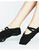 preiswerte Damen zweiteilige Anzüge-Damen Balletschuhe Leinwand Sneaker Schnürsenkel Maßgefertigter Absatz Maßfertigung Tanzschuhe Schwarz / Rot / Rosa / Praxis