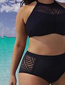 billige Bikinier og bademode 2017-Dame Bikini - Helfarve, Ren Farve