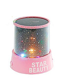 cheap Women's Denim Jackets-Starry Night Sky Projector Colorful LED Night Light (Random Color,Powered by 3 AA Battery)