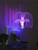 baratos Aço Inoxidável-1 Pça. Luz noturna 3D Decorativa 220V