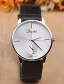 preiswerte Modische Uhren-Damen Armbanduhr Wasserdicht PU Band Charme / Modisch Schwarz / Weiß / Rot