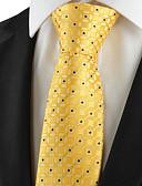 abordables Corbatas y Pajaritas para Hombre-Hombre Algodón Rayón Poliéster Corbata - Fiesta Trabajo Básico Geométrico