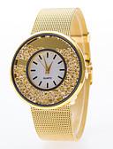 abordables Relojes de Moda-Mujer Reloj de Moda Cuarzo Reloj Casual Aleación Banda Analógico Plata / Dorado - Plata Dorado