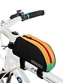 baratos Chapéus de Moda-ROSWHEEL 1 L Bolsa para Quadro de Bicicleta / Saco de Tubo Superior Á Prova de Humidade, Vestível, Resistente ao Choque Bolsa de Bicicleta PVC / 600D de poliéster Bolsa de Bicicleta Bolsa de Ciclismo