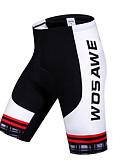 abordables Corbatas y Pajaritas para Hombre-WOSAWE Mujer / Unisex Pantalones Acolchados de Ciclismo Bicicleta Shorts / Malla corta / Pantalones Cortos Acolchados / Prendas de abajo