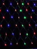 cheap Men's Belt-3MX2M 200LED Home Outdoor Holiday Christmas Xmas Decorative Wedding Net Mesh String Fairy Curtain Garlands Party Light