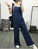 baratos Vestidos de Mulher-Mulheres Clássico Solto Calças - Sólido