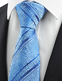 cheap Men's Ties & Bow Ties-Men's Party Work Basic Cotton Rayon Polyester Necktie - Paisley