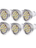 preiswerte Herren-Hosen und Shorts-YouOKLight 6pcs 6 W 450-500 lm GU10 LED Spot Lampen R63 15 LED-Perlen SMD 5630 Dekorativ Warmes Weiß / Kühles Weiß 220-240 V / 110-130 V / 6 Stück / RoHs
