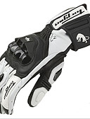 preiswerte Oberteile-Vollfinger Leder Motorräder Handschuhe