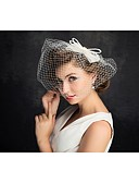 cheap Wedding Dresses-Pearl / Net Fascinators / Headwear with Floral 1pc Special Occasion Headpiece