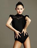 tanie Koszula-Taniec latynoamerykański Body Damskie Spektakl Koronka / Wiskoza Koronka Krótkie rękawy Natutalne Trykot opinający ciało / Śpiochy dla dorosłych