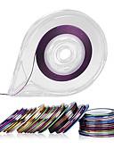 billige Truser-30Colors Striping Tape Linje Negl Kunst Dekorasjon Klistremerker - Gratis Tape Roller Dispenser