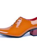 זול עניבות ועניבות פרפר לגברים-החתונה / משרד נעלי גברים&קריירה / צד&הערב / שמלה / נעלי עור פטנט מזדמן שחור / חום / לבן