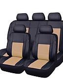 זול 2017ביקיני ובגדי ים-CARPASS כיסויי למושבים לרכב כיסויים בז' / אפור / כחול בהיר עור PU עסקים עבור אוניברסלי