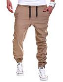 זול טרנינגים וקפוצ'ונים לגברים-בגדי ריקוד גברים פעיל מידות גדולות כותנה מכנסי טרנינג מכנסיים אחיד