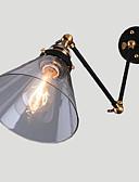 povoljno Haljine za male djeveruše-Rustic / Lodge Svjetla za osvjetljavanje Metal zidna svjetiljka Max 60W / E26 / E27