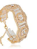 hesapli Gece Elbiseleri-Kadın's Tenis Bilezikler - Moda Bilezikler Gümüş / Altın Uyumluluk Düğün