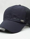 preiswerte Hüte-Herrn Baumwolle Baseball Kappe Solide