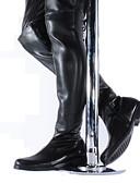 abordables Ropa interior para hombre exótica-Hombre Fashion Boots Sintéticos Otoño / Invierno Botas de Moto Botas Hasta la Rodilla Negro / Fiesta y Noche