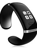 abordables Monitores de Actividad Inteligentes & Brazaletes-Hombre Reloj elegante Pantalla Táctil / Despertador / Calendario Plastic Banda Negro / Blanco / Azul / Podómetros