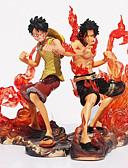abordables Abrigos y Gabardinas de Mujer-Las figuras de acción del anime Inspirado por One Piece Cosplay CLORURO DE POLIVINILO 11 cm CM Juegos de construcción muñeca de juguete