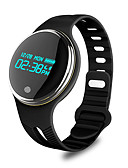 cheap Fashion Watches-Men's Smartwatch Digital 30 m Water Resistant / Water Proof Calendar / date / day Creative Silicone Band Digital Charm Multi-Colored - White Black / Pedometers / Speedometer / Fitness Trackers