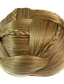 halpa Pluskokoiset mekot-synteettinen Hiusten pidennys Klassinen Suora Clip In Klassinen Suora Päivittäin Korkealaatuinen